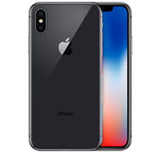 Apple iPhone X 256GB Gray Mobile Phone