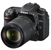 Nikon D7500 Digital Camera With 18-140mm VR AF-S DX Lens