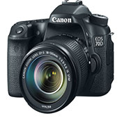 Canon EOS 70D 18-135mm IS STM Digital Camera