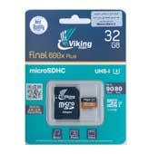 Vicco man 32GB Class 10 microSDHC 533X U1 Memory Card