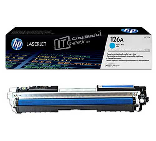 HP 126A-CE311A cyan Original LaserJet Toner Cartridge