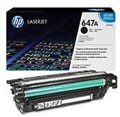 HP 647A-CE260A Black LaserJet Toner Cartridge