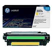 HP 307A-CE742A Yellow LaserJet Toner Cartridge