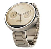 Motorola Moto 360 Champagne Gold Metal 18mm Band Smart Watch