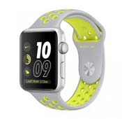 Apple Watch Nike PLUS Sport 42mm Silver Aluminum Case Silver Volt