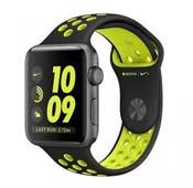 Apple Watch Nike Plus Sport 38mm Space Gray Aluminum Case Black Volt