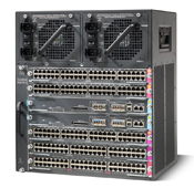 Cisco WS-C4507R Port Switch