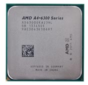 AMD A4-6300 Tray CPU