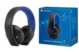 Sony Gold Wireless S Headset PlayStation