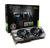 EVGA GeForce GTX 1070 FTW GAMING ACX 3.0 GRAPHIC CARD