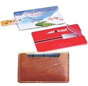 Datakey 16GB-Leather bags Flash Card