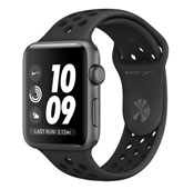 Apple Watch 3 Nike Plus 38mm Space Gray Aluminum Case with Anthracite-Black Nike Sport Band