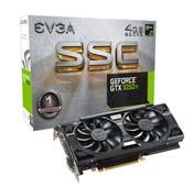 EVGA GeForce GTX 1050 Ti SSC GAMING ACX 3.0 GRAPHIC CARD