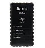Aztech NET-WL556E Wall-Plugged 300Mbps Wi-Fi Repeater
