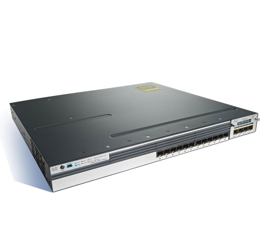 Cisco 3750X 12S-S 12 Port SWITCH