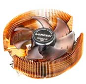 Green Tiny Gold 95 PWM Air CPU Cooler