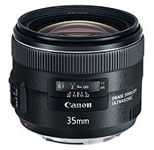 Canon EF 35mm F2.0 IS USM Camera Lens