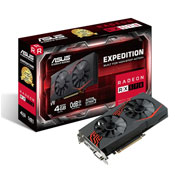 ASUS Expedition Radeon RX 570 OC edition 4GB GDDR5 gaming VGA