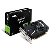 MSI GTX 1050 Ti AERO ITX OC 4GB GDDR5 Graphics Card