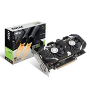 MSI GTX 1050 Ti OC 4GB GDDR5 Graphics Card