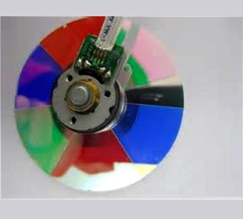 Scope Color Wheel Video Projector